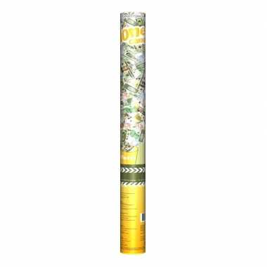 Confetti kanon geld 60 cm