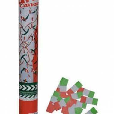 Kanon met confetti italie 40 cm